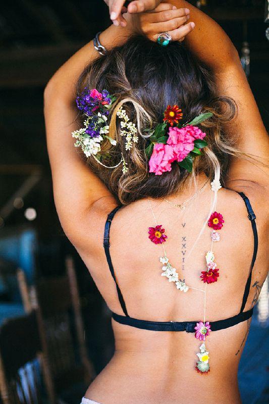 Be Warned, MAJOR crush material ahead! Girl Crush, CHECK. Hair Crush, CHECK. Ultra Cool Free Spirited Boho Crush, CHECK. Floral Crush, CHECK! West coast California wedding & boudoir ...